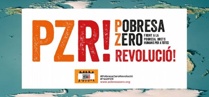 ZONA DE DESCARGA DE MATERIALES Y CARTELES DE POBRESA ZERO 2020