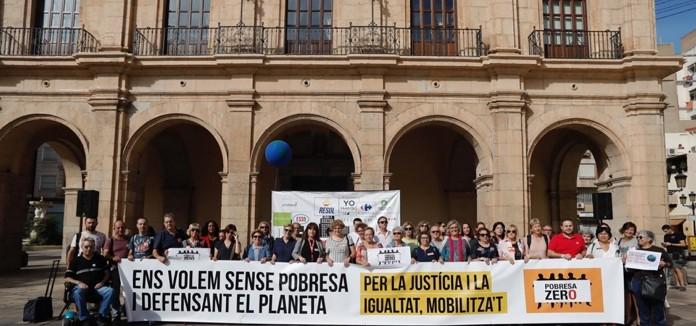 """Gràcies per fer possible les accions de PobresaZero en Castelló 2019 """"Ens volem sense pobresa i defensant el planeta"""""""