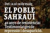Setmana sobre el Sàhara Occidental en la Universitat de València