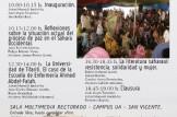 III Jornadas: Sáhara Occidental y las Universidades Públicas Valencianas