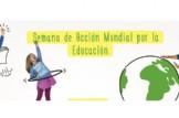 Valencia se moviliza para celebrar la Semana de Acción Mundial por la Educación.