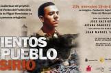 """proyección audiovisual """"Vientos del Pueblo Sirio"""" en memoria de Miguel Hernandez y a favor de la spersonas refugiadas"""
