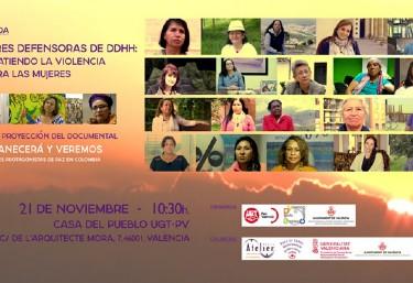 Jornada. Mujeres defensoras de derechos humanos: combatiendo la violencia contra las mujeres