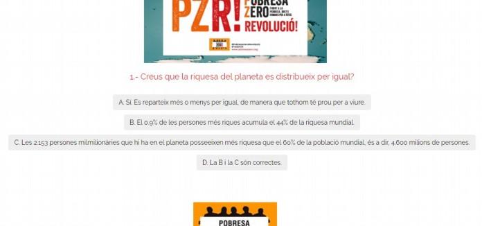"""Pobresa Zero lanza el 'test PZR' para detectar """"el virus de la indiferencia"""" ante la desigualdad social"""